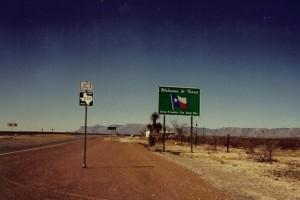 Texas signage