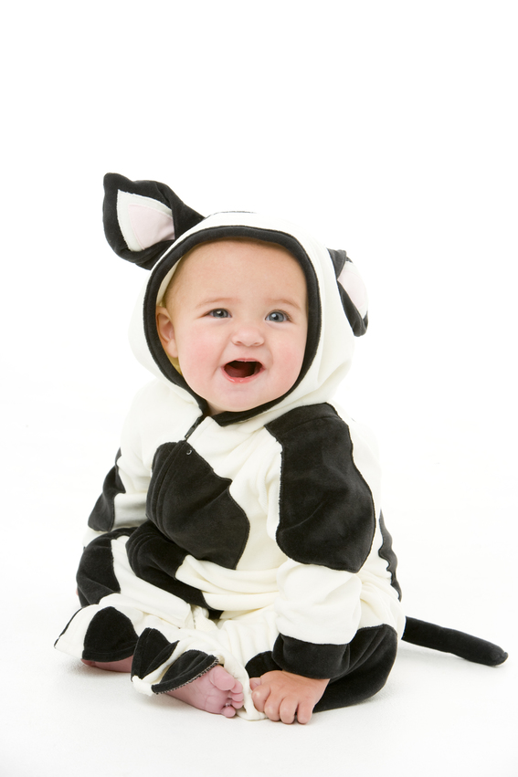 Baby in cow costume  sc 1 st  Square Cow Movers & Cow Costumes for All Ages