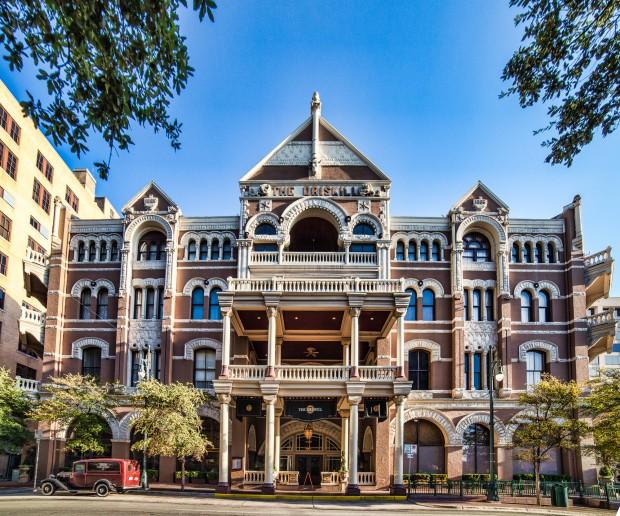 Driskill Hotel, 6th Street, Austin, Texas