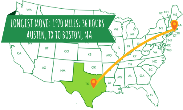 Nationwide Moving Locations Square Cow Movers